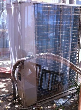 Hotel Club Els Pins : climatisation salle de repas