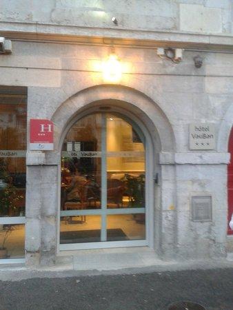 Hotel Vauban : fachada