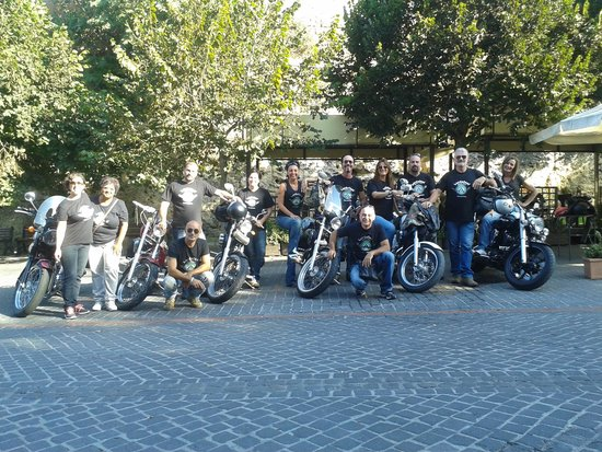 Hotel & Resort Le Colombare: Lordoloni Bikers Tarquinia