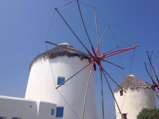 The Windmills (Kato Milli) : Windmills in summer time