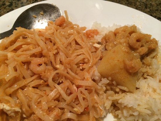 Simply Thai Restaurant: They used canned shrimp all around and it was bland and terrible.
