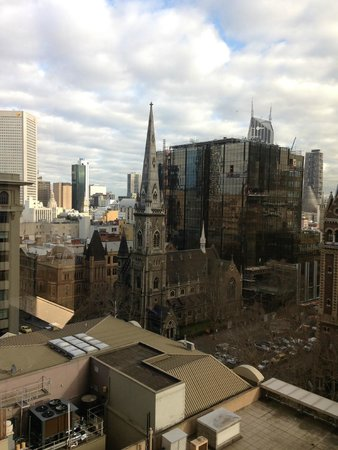 Grand Hyatt Melbourne: View from our room