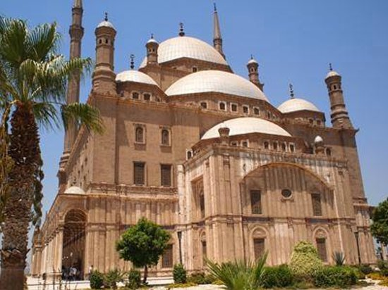 Mosquée Mohammed Ali : モスク外観