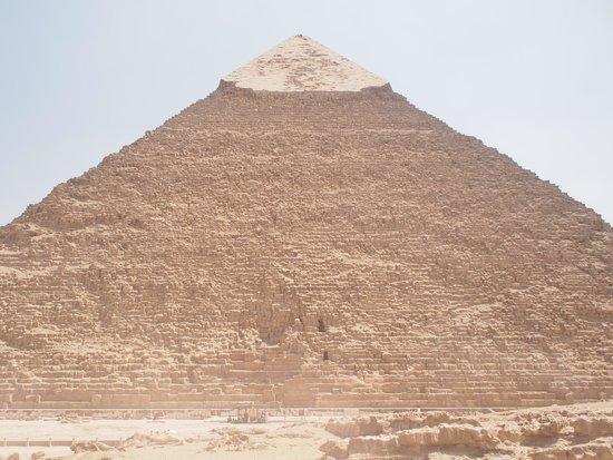 Khafre, the second pyramid: カフラー王のピラミッド