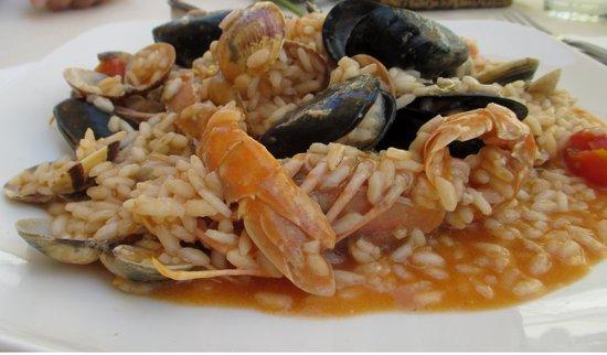 Il Ghiottone Trattoria Ristorante : Risotto ai frutti di mare