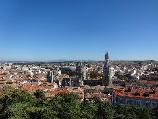 Catedral de Burgos: 上から