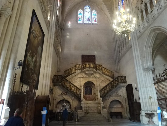 Catedral de Burgos: 館内
