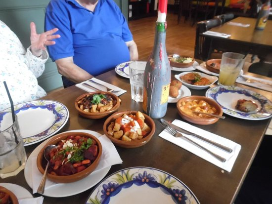 La Tasca - Norwich: A selection of tapas for three !
