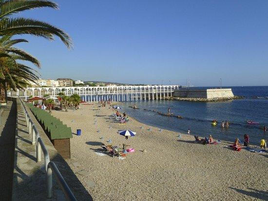 "Hotel San Giorgio : The ""waterfront"" area near the hotel"