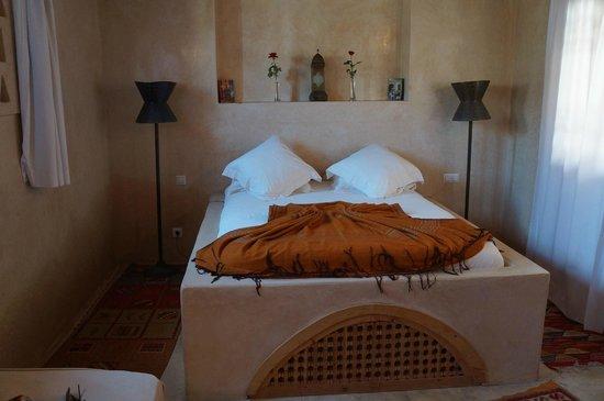 Riad Chbanate: Habitación