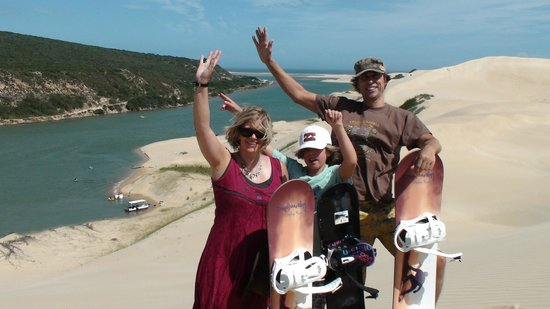 Sandboarding @ Sunday's River: Family picture