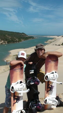 Sandboarding @ Sunday's River: Nice view