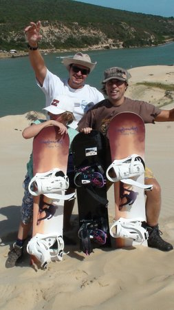 Sandboarding @ Sunday's River: We did it!
