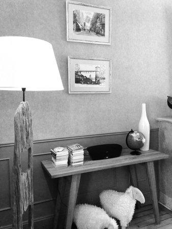 L'hôtel Ascott : Salle de petit déjeuner