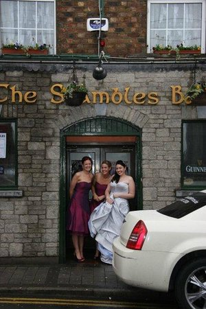 Monaghan, Ireland: The Shambles, we called in  for a quick one before heading to the Four Seasons for our reception