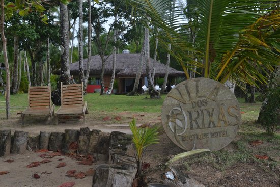 Hotel Vila dos Orixas: Acceso desde la playa