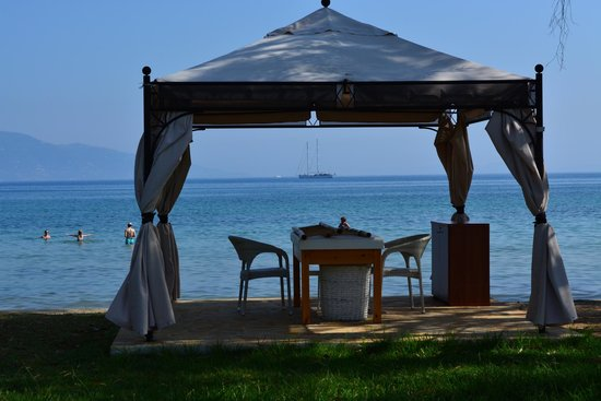 TUI FAMILY LIFE Kerkyra Golf: The massage tent