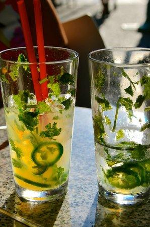 Cactus Restaurant: The unusual and tangy lemonade