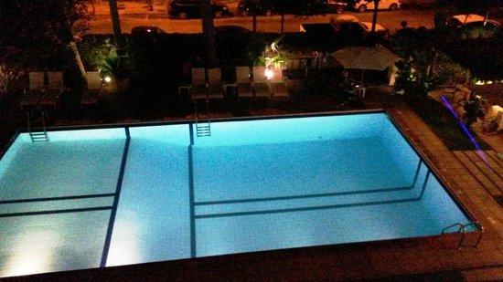 Araxa Hotel : Vista desde nueestra habitación (208)