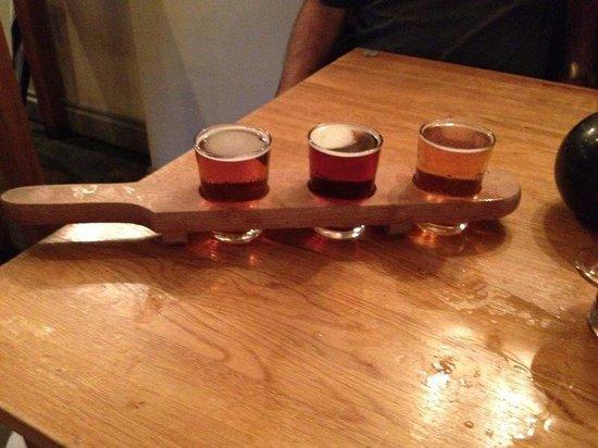 Tweedies Bar: A bat of beer