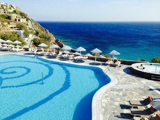 Myconian Imperial Hotel & Thalasso Centre : amazing pool