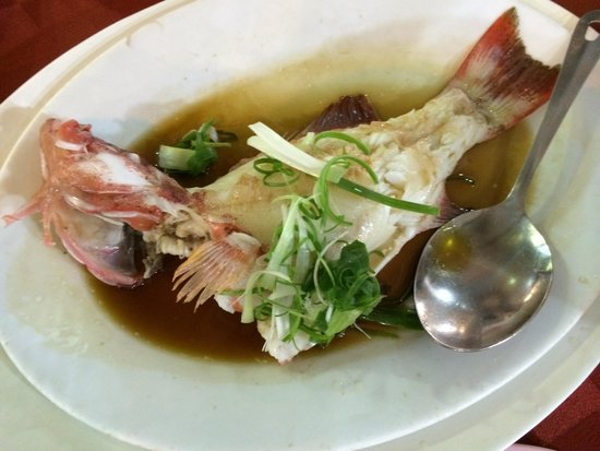 Suang Tain Seafood Restaurant: 魚料理