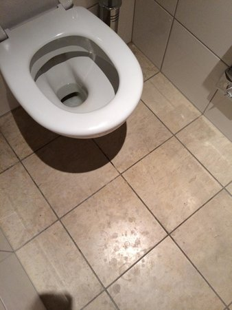 Skt. Petri : Filthy bathroom floor