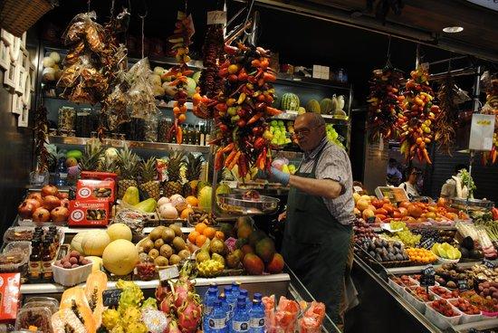 Mercat de la Boqueria : mercato
