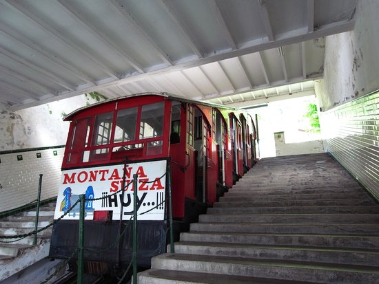 Monte Igueldo: ケーブルカー。