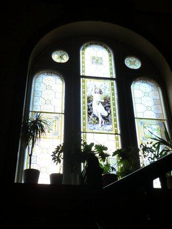 Craigard House Hotel: glass window
