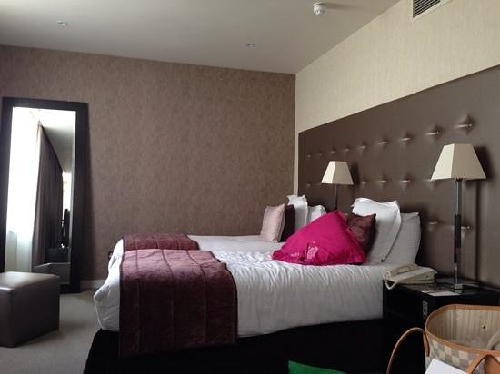 K West Hotel & Spa: chambre 2 lits