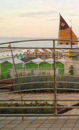 Hotel Clipper: vista dalla sala da pranzo