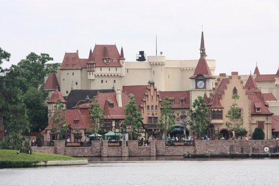 Epcot: Germany - great detail