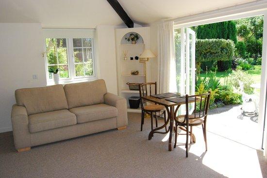 The Little Manor: Large twin / kingsize Garden Room