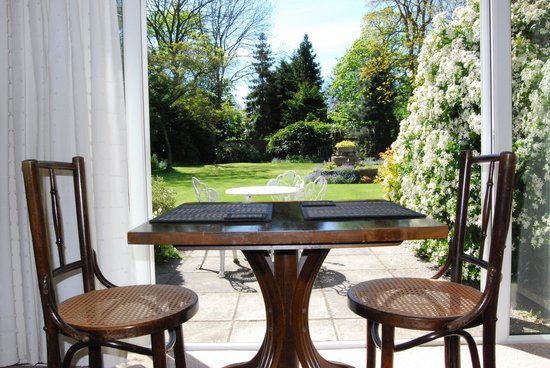 The Little Manor: View from Garden Room