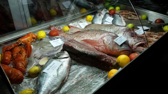 Lighthouse Golf & Spa Resort : Great fish selection