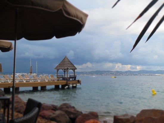 Marco Polo: avancée sur la mer depuis le restaurant