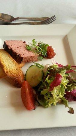 Muthu Westcliff Hotel: Ardennes pate starter