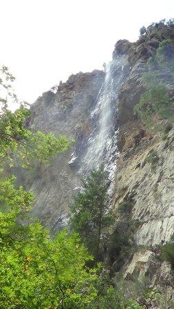 Sapadere Canyon: Водопад