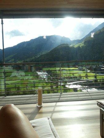 Hotel Krone : Spa avec vue 360
