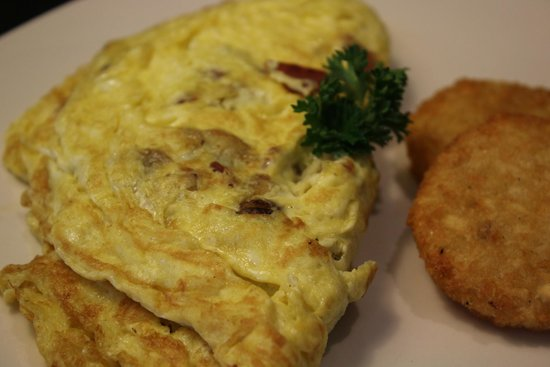 Sugo Bryanpark : Omelette ( choose your filling )