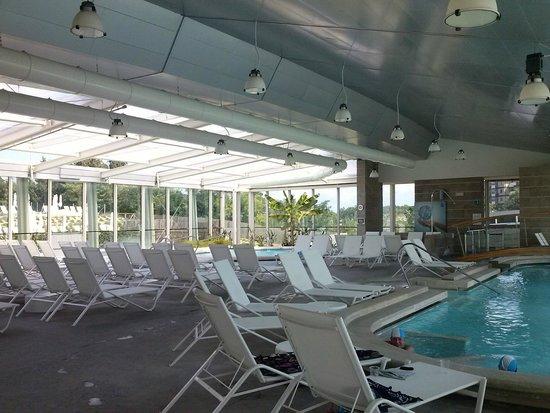 Hotel Garden : Piscine interne Theia