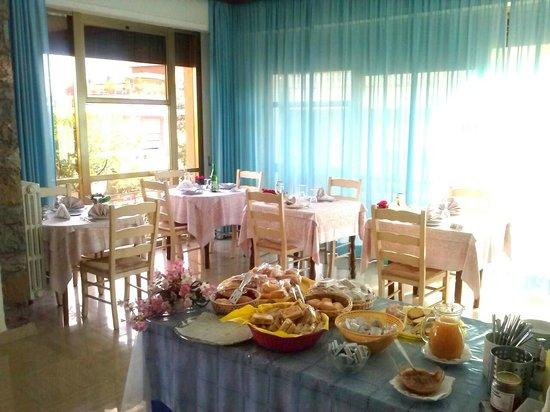 Hotel Garden : Sala Ristorante !