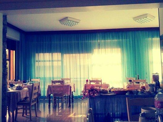 Sala ristorante Hotel Garden!