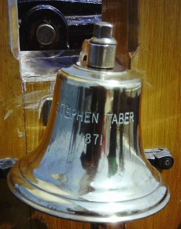 Schooner Stephen Taber Day Cruises: Ship's Bell