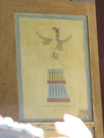 Le Palais de Cnossos : affresco 1