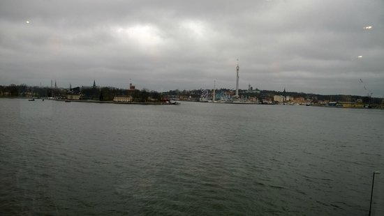 Fotografiska: View from the restaurant upstairs
