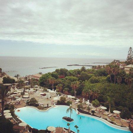 Dream Hotel Gran Tacande: Vista desde la habitación 458 (Casa Fuerte)