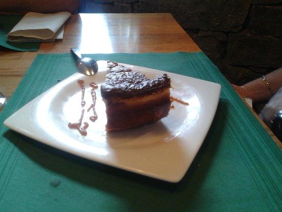 Restaurante El Molín de la Pedrera: Tarta de queso