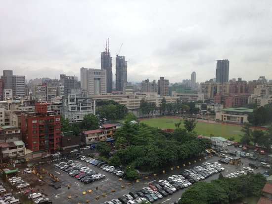 Taipei Garden Hotel : View from the window
